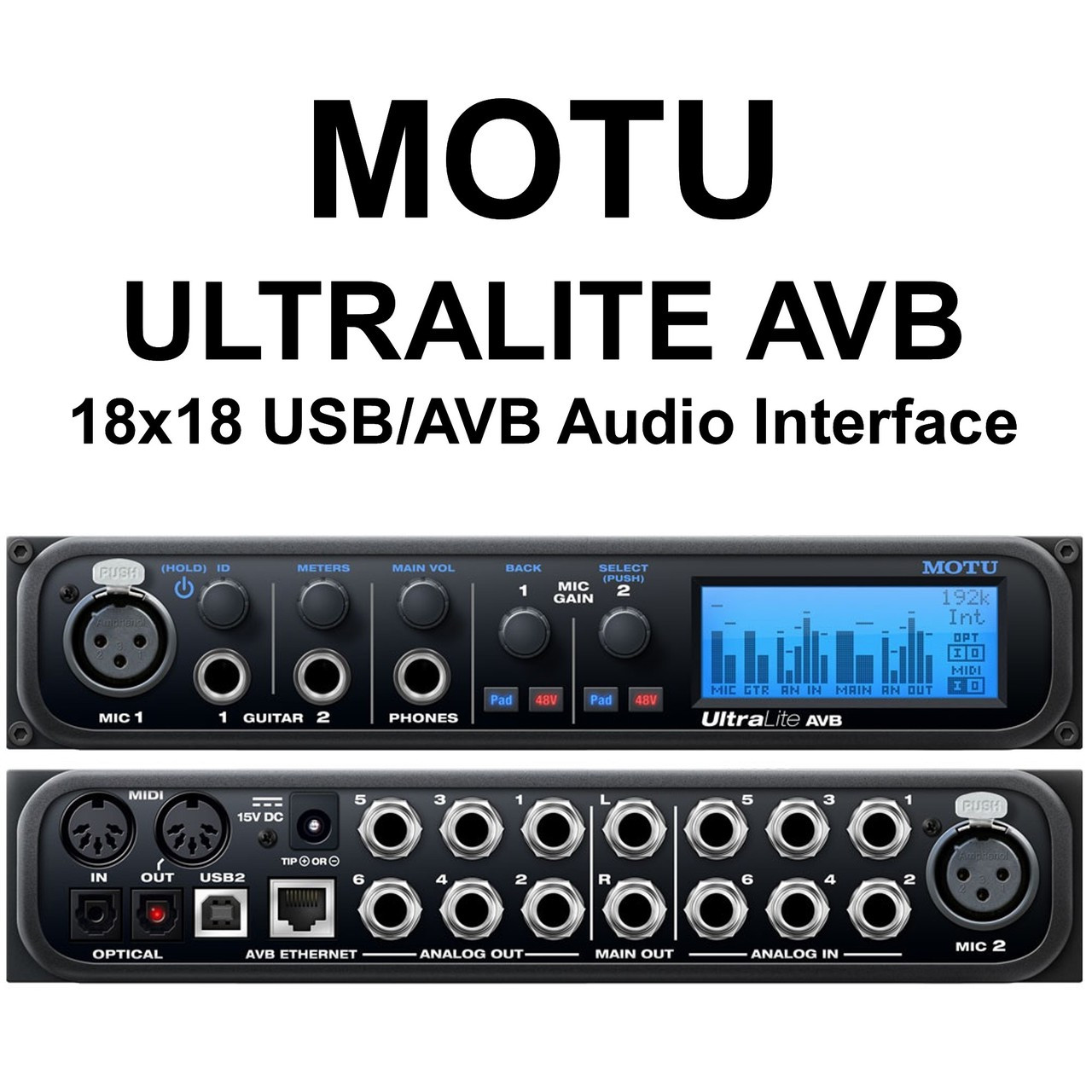 motu ultralite avb 18x18 compact ethernet usb audio interface 25 instant coupon use promo code. Black Bedroom Furniture Sets. Home Design Ideas