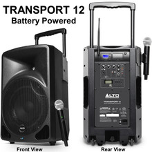ALTO PROFESSIONAL TRANSPORT 12 Battery Powered Wireless PA System $20 Instant Coupon Use Promo Code: $20-OFF