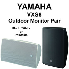 """YAMAHA VXS Series 8"""" Outdoor Monitor Pair $30 Instant Coupon Use Promo Code: $30-OFF"""