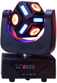 BLIZZARD SNAKE EYES MINI RGBW LED Moving Head FX Light $10 Instant Coupon Use Promo Code: $10-OFF