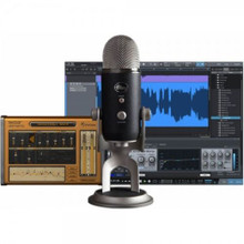 BLUE YETI PRO STUDIO PACK USB Mic, Software & Cables Recording System $10 Instant Coupon Use Promo Code: $10-OFF
