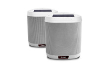 ION KEYSTONE Solar Powered Rechargeable Wireless Outdoor Bluetooth Speaker Pair $5 Instant Coupon Use Promo Code: $5-Off