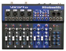 VOCOPRO WIRELESSMIX-ULTRA Mixer 4 UHF Mics Recorder Karaoke Player Bluetooth Airnet 2 Receivers $70 Instant Coupon Use Promo Code: $70-OFF