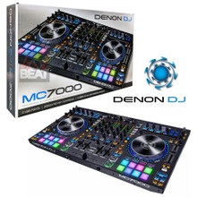 DENON MC7000 Professional 4 Channel Dual USB Controller & Serato DJ Software $25 Instant Coupon Use Promo Code: $25-OFF