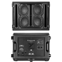 "YORKVILLE PARALINE PSA1 Active 2400w Peak Quad 6"" Speaker PA System Pair $100 Instant Coupon Use Promo Code: $100-OFF"