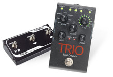 DIGITECH TRIO Band in a Box Pedal Bundle with FS3X Footswitch Controller $5 Instant Coupon Use Promo Code: $5-OFF