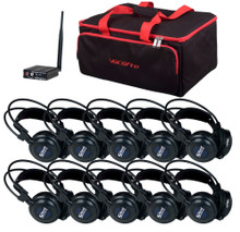 VOCOPRO SILENTSYMPHONY-LEARN Wireless Audio Classroom System with 10 Headphones $20 Instant Coupon Use Promo Code: $20-OFF