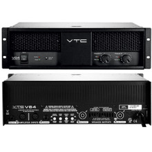 VTC PRO AUDIO V64 Professional 7250w Burst Power Touring or Installation Amplifier $200 Instant Coupon Use Promo Code: $200-OFF