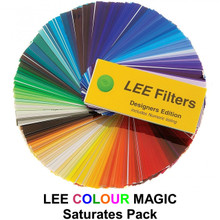 """Lee Colour Magic Series Saturates Pack (12) 12"""" x 10"""" Filters"""