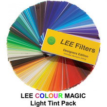 """Lee Colour Magic Series Light Tint Pack (12) 12"""" x 10"""" Filters"""