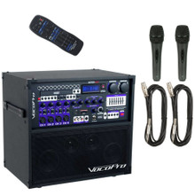 VOCOPRO HERO-BASIC All-In-One Recording / Entertainment System 2 Wired Mics, Cables & Remote $30 Instant Coupon Use Promo Code: $30-OFF