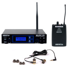 VOCOPRO SILENTPA-IN-EAR-ONE Personal Wireless Monitor System with Receiver, Transmitter & Earbuds $10 Instant Coupon Use Promo Code: $10-OFF