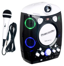 VOCOPRO ProjectorOKE CDG/Bluetooth Karaoke System with LED Projector $5 Instant Coupon use Promo Code: $5-OFF