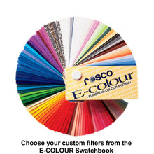 "E-Colour Individual 6.5"" X 6"" Custom Color Filters"