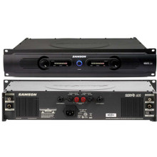 SAMSON SERVO 600 Rackmount 2 Space Power Amplifier $10 Instant Coupon Use Promo Code: $10-OFF