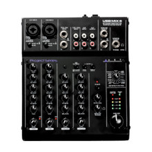 ART USBMIX6 Microphone, Instrument, Line FX Mixer with Computer Podcast Interface $5 Instant Coupon Use Promo Code: $5-OFF