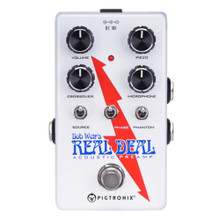 PIGTRONIX BOB WEIR REAL DEAL Preamp Pedal for Acoustic Guitar $5 Instant Coupon Use Promo Code: $5-OFF