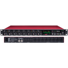 FOCUSRITE SCARLETT OCTOPRE DYNAMIC 8 Channel Mic Preamp with Built-in Compression & Limiter