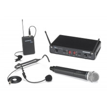SAMSON CONCERT 288 ALL IN ONE Dual Wireless Headset & Handheld Mic System $10 Instant Coupon Use Promo Code: $10-OFF