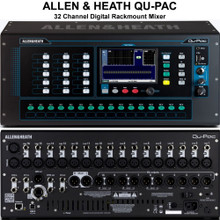 ALLEN & HEATH QU-PAC 32 Channel Rackmount Digital Touchscreen Audio Mixer