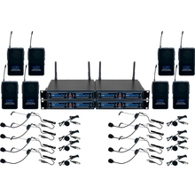 VOCOPRO UDH-PLAY-8 Mix & Match 16 Mic Rackmount Wireless System $10 Instant Coupon Use Promo Code: $10-OFF