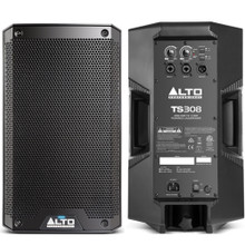 ALTO PROFESSIONAL TS308 4000w Total Peak Power PA Speaker System Pair $10 Instant Coupon Use Promo Code: $10-OFF