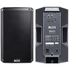 ALTO PROFESSIONAL TS310 4000w Total Peak Power PA Speaker System Pair $15 Instant Coupon Use Promo Code: $15-OFF
