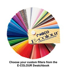 "E-Colour Individual 8"" x 7.5"" Custom Color Filters"