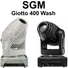 SGM Giotto 400 wash CMY color mixing Black / white intelligent fixture $200 Instant Coupon use Promo Code: $200-OFF