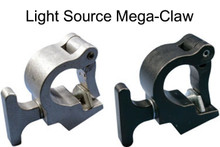 "Mega-Claw best/fastest 360 degree 1100lb aluminum clamp fits 1.5"" - 2"" pipe"