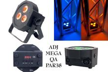 American DJ Mega QA Par38 ultra bright uplight $5.00 Instant off use Promo Code: $5-OFF