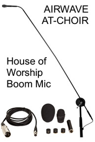 "Airwave at-choir 50"" Professional carbon-fiber boom mic $10 Instant Coupon use Promo Code: ATCHOIR"