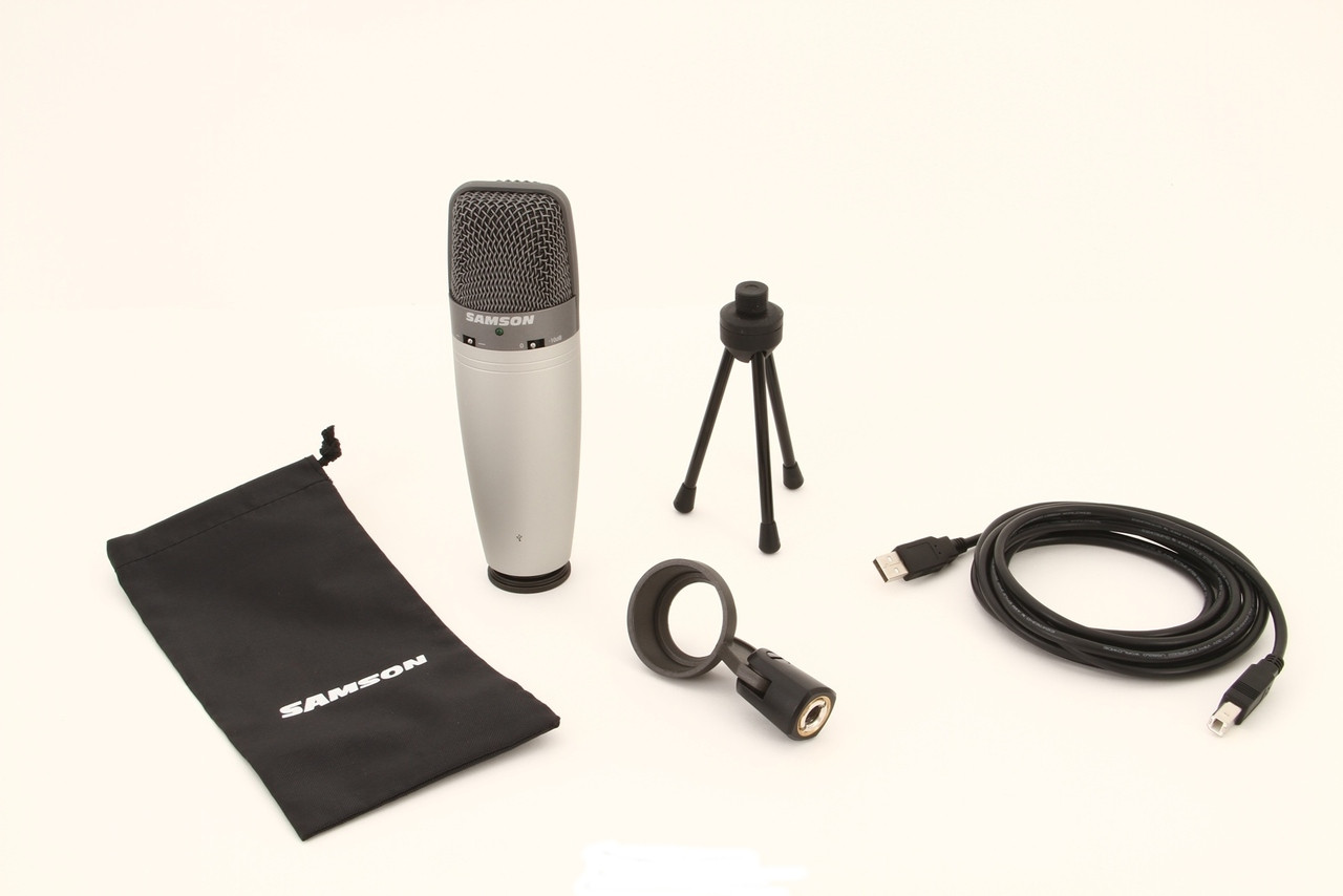 samson c03u dual large diaphragm usb multi pattern mic for podcast 5 instant coupon use promo. Black Bedroom Furniture Sets. Home Design Ideas