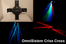 Omnisistem Criss Cross 60 LED 4 glass lens centerpiece $10 Instant Coupon use Promo Code: $10-OFF
