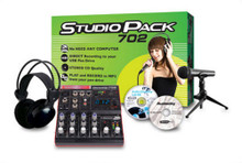 JAMMIN PRO STUDIOPACK702 Complete USB Mixer & Record System $10 Instant Off use Promo Code: $10-OFF