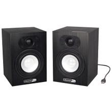 JAMMIN PRO NS5 USB Powered Home Studio Nearfield Reference Monitors $10 Instant Coupon use Promo Code: $10-OFF