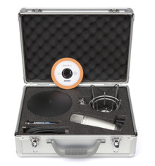 Samson C01U Pak USB condenser mic complete with sonar le software $5 Instant Coupon use Promo Code: $5-OFF