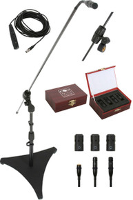 GALAXY CBM-324 Carbon Fiber Boom Mic 3 Pick-Up Capsules $15 Instant Coupon Use Promo Code: $15-OFF