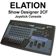 ELATION SHOW DESIGNER 2CF DMX Programmable Joystick Console $100 Instant Coupon Use Promo Code: $100-OFF