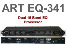 ART EQ341 1U Dual 15 Band Equalizer Processor $5 Instant Coupon Use Promo Code: $5-Off
