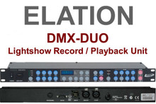 ELATION DMX-DUO Lightshow Recorder / Playback Controller $10 Instant Coupon Use Promo Code: $10-OFF