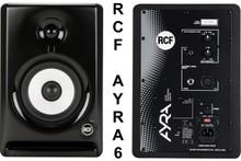 RCF ayra 6 nearfield reference studio computer monitors $10 Instant Coupon use Promo Code: ayra6