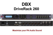 DBX DRIVERACK 260 PA Optimizer Feedback Elimination Processor $30 Instant Coupon Use Promo Code: $30-OFF