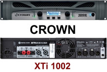 CROWN XTI1002 1000w Bridged Rackmount Amplifier $20 Instant Coupon Use Promo Code: $20-OFF