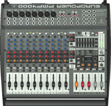 BEHRINGER PMP4000 16 Channel 1600w Powered Mixer $20 Instant Coupon Use Promo Code: PMP4000
