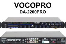 VOCOPRO DA-2200PRO Vocal Enhancer with Digital FX Karaoke Key Changer Mixer $10 Instant Coupon use Promo Code: $10-OFF