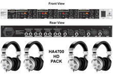 BEHRINGER HA4700 / HPX2000 4 Pack Headphones Rackmount Amp $10 Instant Coupon Use Promo Code: $10-OFF