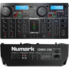 NUMARK CDMIX USB Dual Screen Self Contained CD/MP3 Enabled DJ System $30 Instant Coupon Use Promo Code: $30-OFF