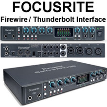 FOCUSRITE SAFFIRE PRO 26 Firewire Interface