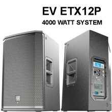 EV ETX12P 4000 Watt DSP LCD Screen PA Speaker Pair $200 Instant Coupon Use Promo Code: $200-OFF